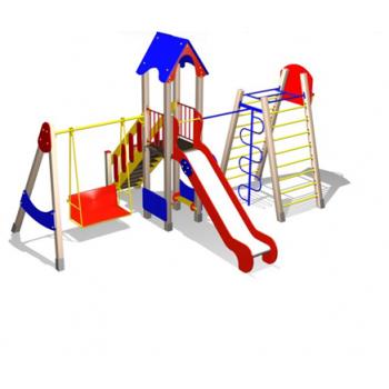 Детский игровой комплекс на металлокаркасе ДИК 07148