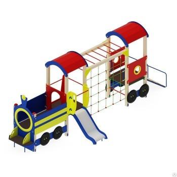 Детский игровой комплекс «Паровозик» ДИК 06107