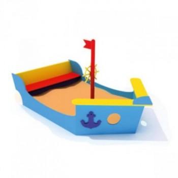 Песочница Корабль со скамьей ПДО 16