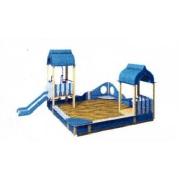 Песочный дворик «Бригантина» ПДО 42