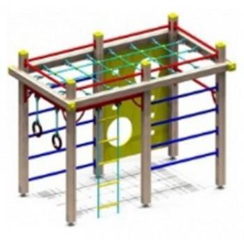 Спортивный комплекс СК0761 с металлической решеткой