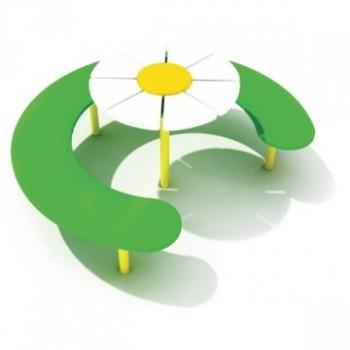 Скамья со столом «Цветок» ЭСП 21