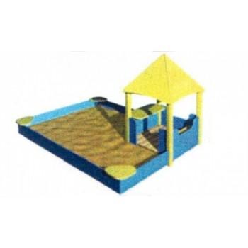Песочный дворик «Ветерок» ПДО 43
