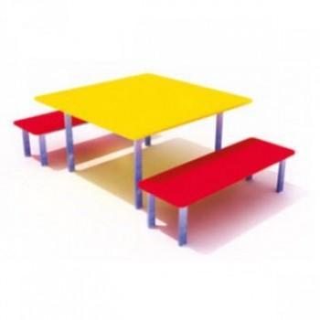 Стол со скамейками ЭСП 02