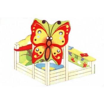 Песочный дворик Бабочка ПДО 31