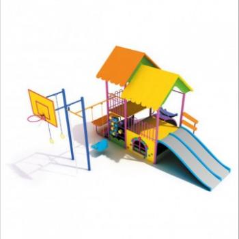 Детский игровой комплекс «Избушка» ДИК 0720