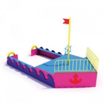Корабль с мачтой, скамейками ЭФП 13