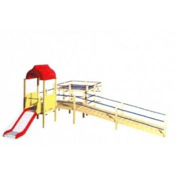 Детский игровой комплекс для детей с ограниченными возможностями ДИК 0625
