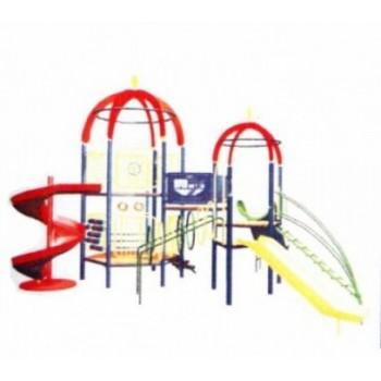 Детский игровой комплекс «Ракета с винтом» ДИК 0735