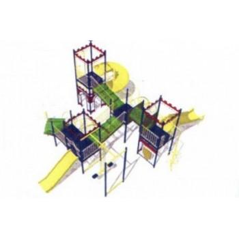 Детский игровой комплекс «Башня» ДИК 0732